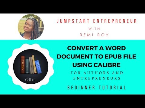 How To Create An Epub File Using Calibre