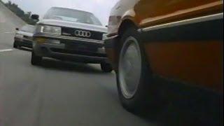 1988 B3 Audi 80 90 Demo Drive tape