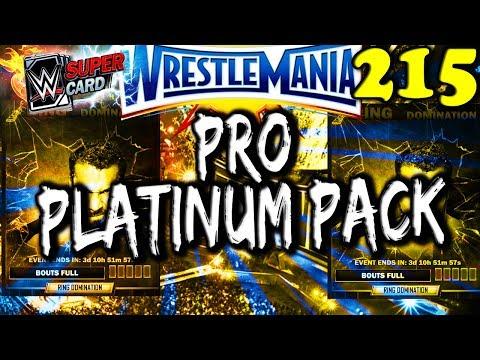 WWE SUPERCARD S3 #215 – PLATINUM PACK OPENING – PRO!! – JINDER MAHAL RING DOMINATION