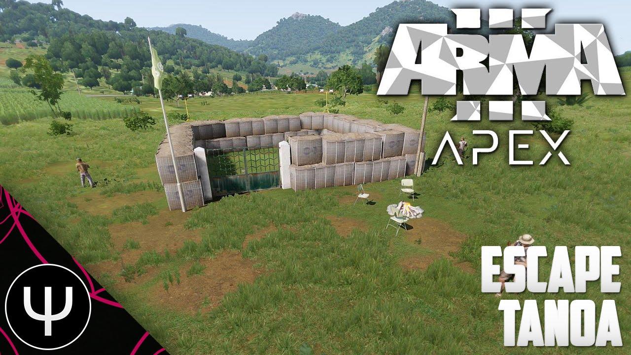 arma 3 escape