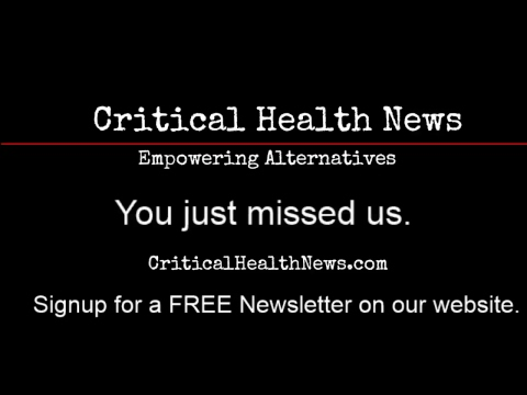 Critical Health News Broadcast 01/28/2018: Pharmacist Ben Fuchs Live At Raley's Market Event Room