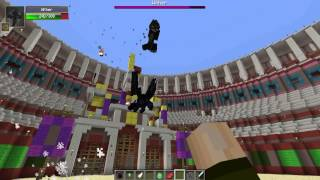 DRAGON VS WITHER - Minecraft Batallas de Mobs - Mods