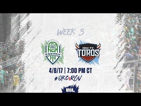 USL LIVE - OKC Energy FC vs Rio Grande Valley FC 4/8/17