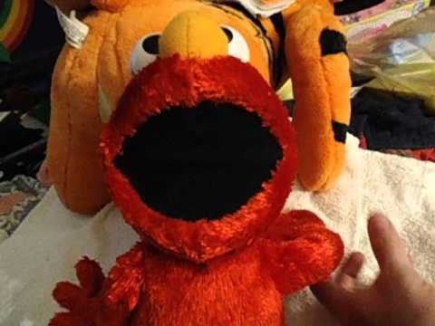 Talking Singing Stuffed Elmo Toy 162036489129 Youtube