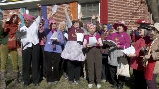"""Video """"We're Raging Grannies Strong!"""" 
