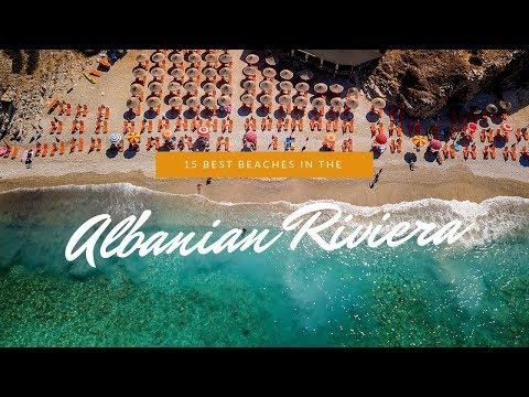 15 Best Beaches in Albania  - Albanian Riviera 4k