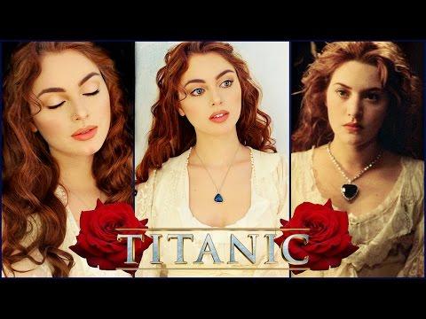 "Rose From ""Titanic"" Makeup Tutorial 🌹 | Kate Winslet Titanic"