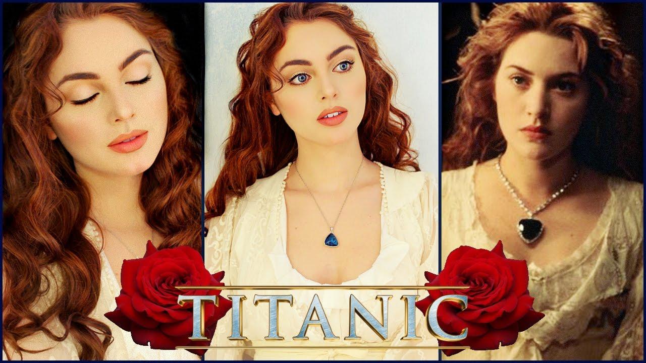 "Rose From ""Titanic"" Makeup Tutorial"