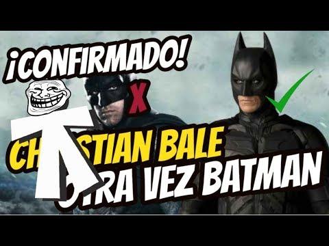 CHRISTIAN BALE SERÁ EL BATMAN DE MATT REEVES. EL PROPIO DIRECTOR LO CONFIRMA