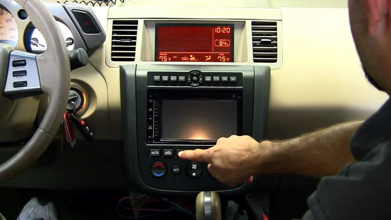Metra nissan murano 2003 2007 99 7612 dash kit youtube vanachro Images