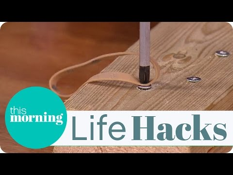 Life Hacks - Simple Tricks For Drilling And Screwing