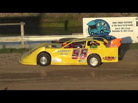 9. Late Model Heat Race #2 at Crystal Motor Speedway on 05-28-17.