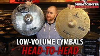 Low Volume Cymbals - Sabian Quiet Tone vs. Zildjian L80