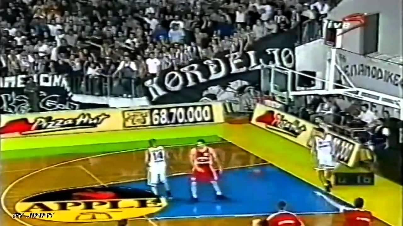 Paok Olympiakos: PAOK OLYMPIAKOS 87-67 (99/00)
