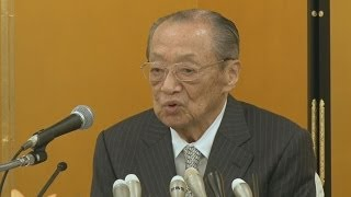 竹本住大夫さん引退表明 人形浄瑠璃文楽の人間国宝