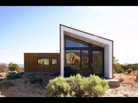 Plano de casa triangular incluimos interiores doovi for Casa moderna minimalista 6 00 m x 12 50 m 220 m2