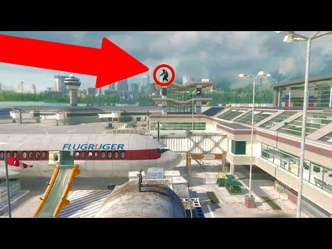 TRYING OLD GLITCHES on MODERN WARFARE 2! ELEVATOR & OUT OF MAP GLITCHES MW2! (7 Years Old!)