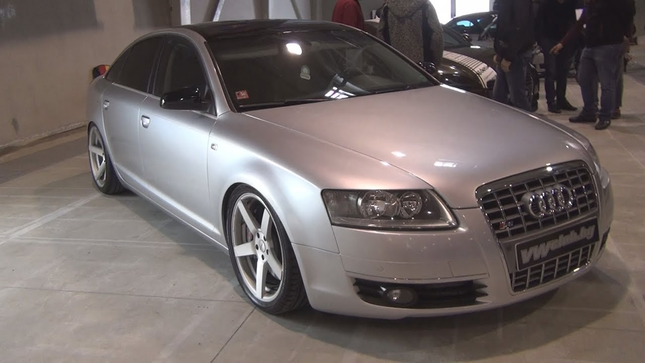 audi a6 4f 2007 exterior and interior in 3d youtube. Black Bedroom Furniture Sets. Home Design Ideas