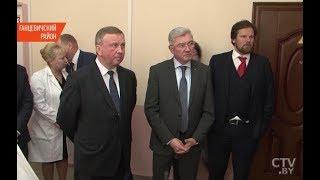Фото Рабочая поездка Кобякова в Ганцевичский район: премьер изучил проблемы малого и среднего бизнеса