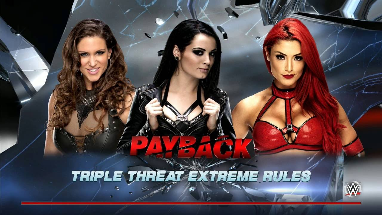 Sound Off Gamer - Eva Marie in Triple Threat Action (WWE 2K16)