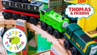Thomas and Friends | Thomas Train and the Wacky Bridge with KidKraft and Brio | Toy Trains for Kids