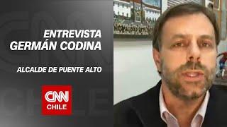 """Germán Codina por Puente Alto a Transición: """"Habrá medidas para mantener el distanciamiento"""""""