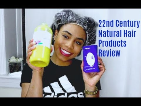 22nd Century Natural Hair Woman Products Review (Deep Conditioner Demo)