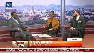 REED Centre Executive Director Ighorodje On Nigeria's Security Situation Pt.1 |Sunrise Daily|