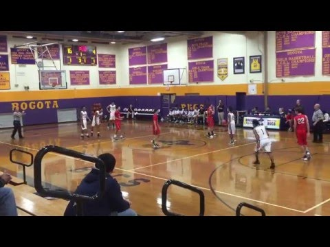 Bogota VS Saddle River 1262016 1st half 69 AND 36 BOGOTA WIN