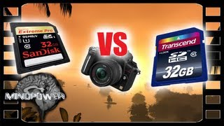Sandisk Extreme Pro vs Transcend Class 10 - SD Cards Compared- MindPower009 thumbnail