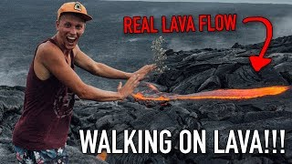 VLOG #33: THE FLOOR IS LAVA IN REAL LIFE! (big island hawaii)