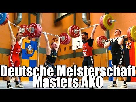 Gruppe 18 M30 Gewichtheben Deutsche Meisterschaft Masters 2017