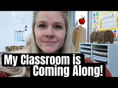 high-school-teacher-vlog---my-classroom-is-coming-along!