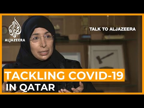Qatar health minister: 'Coronavirus rate not high, but realistic' | Talk to Al Jazeera
