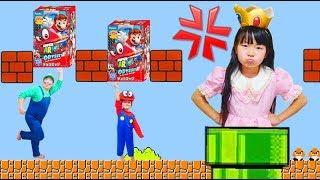 チョコエッグマリオオデッセイなりきり寸劇ごっこ遊び Funny kids surprise eggs super mario odyssey