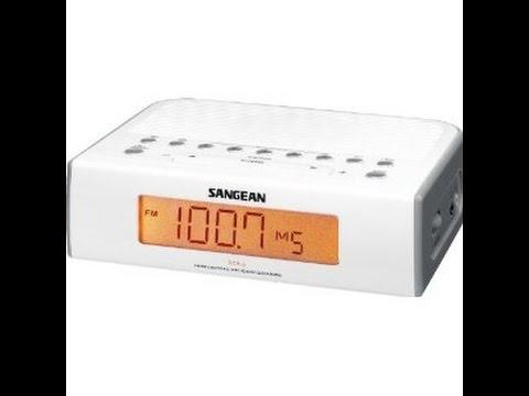 toshiba rc 803f clock radio video 1 clock motor doovi. Black Bedroom Furniture Sets. Home Design Ideas