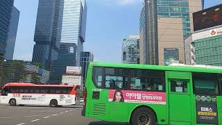 SEOUL,KOREA,역삼동국기원.강남역사거리.삼성빌딩…