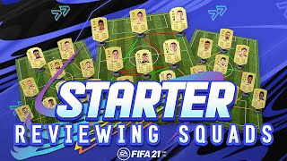 REVIEWING FIFA 21 STARTER SQUADS!!! - FIFA 21 Ultimate Team