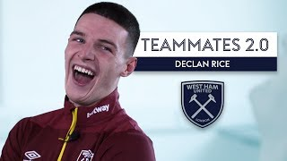 Declan Rice does HILARIOUS Robert Snodgrass impression! 😂| Declan Rice | West Ham | Teammates 2.0