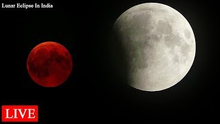Blood Moon 2018 HD video   - Lunar Eclipse  live July 27 in India