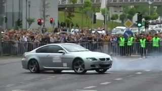 BMW M6 and BMW M5 and R8 Drift
