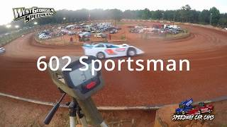 6-9-18 Speed Radar hot laps from all Classes at West GA Speedway