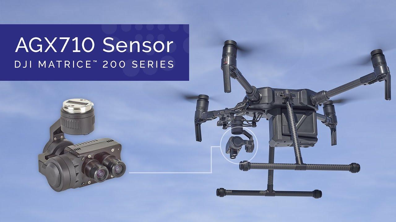 AGX710 Sensor for DJI Matrice 200 Series | Sentera