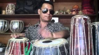 nepali drummer layin down a beat !