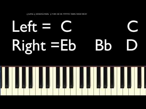 How Great Thou Art   EASY PIANO LESSON