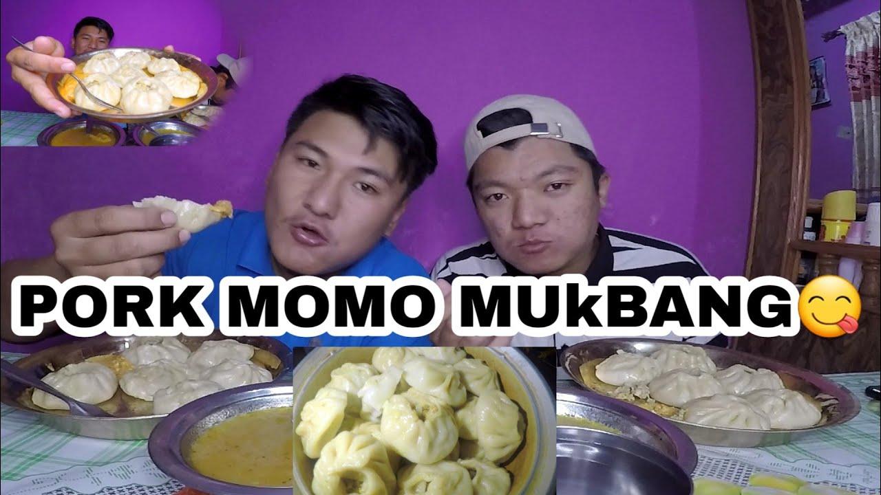 Download PORK MOMO MUKBANG WITH MY BROTHER |THULO MOMO|