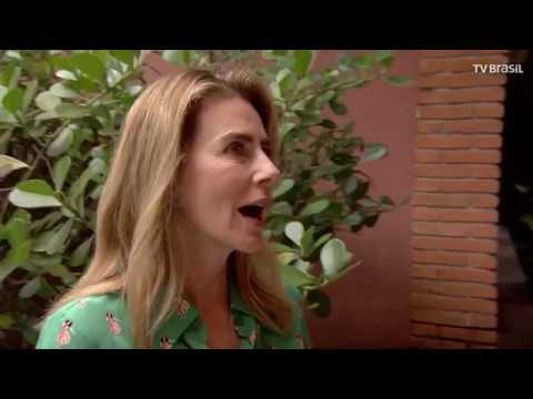 Roseann Kennedy conversa com a atriz Maitê Proença