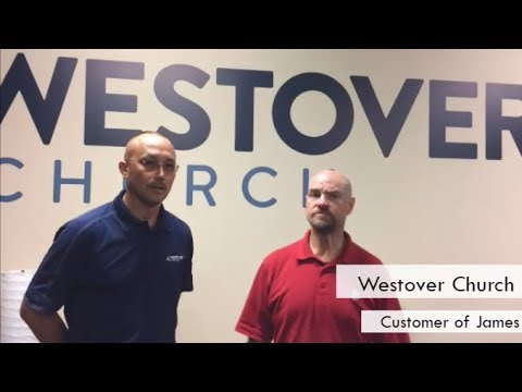 AED Brands | Customer Testimonial | Westover Church