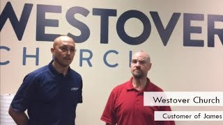 AED Brands | Customer Testimonial | Westover Church