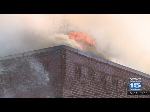 Fire Destroys Historic Huntington Building